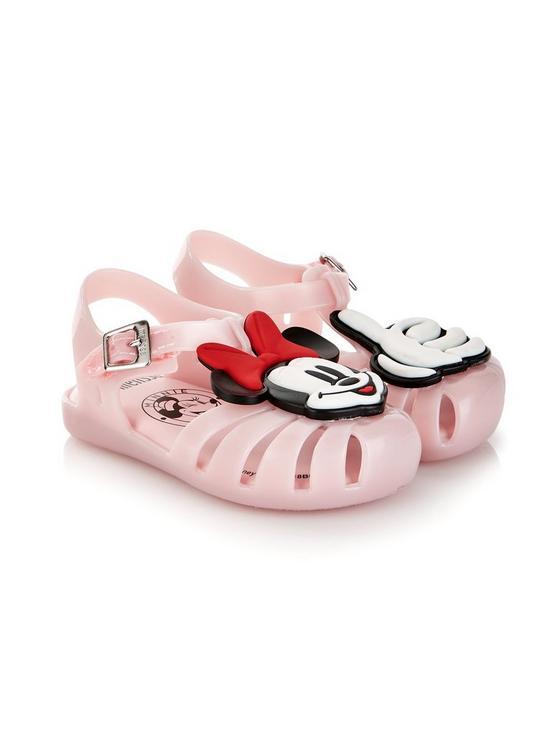 8c22311b53bd Mini Melissa Mini Aranha Disney Fun Jelly Shoes - Pink