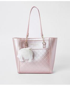 river-island-girls-ri-monogram-shopper-bag-pink