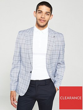 river-island-blue-check-skinny-fit-suit-blazer