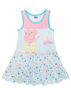 peppa-pig-girlsnbspbeach-summer-dress-pinkblue