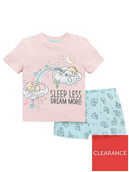 my-little-pony-girlsnbspshorty-pyjamas-multi