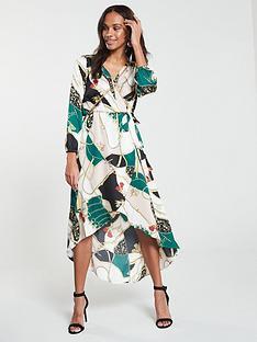 235db3138e458 AX Paris Scarf Printed Dress - Multi