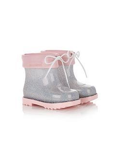 mini-melissa-mini-rain-boots-silver