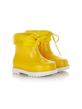 mini-melissa-mini-rain-boots-yellow
