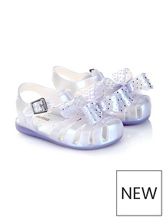 mini-melissa-mini-aranha-disco-bow-jelly-shoes--nbsppearlescent