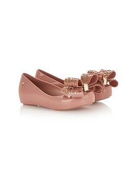 mini-melissa-kids-ultragirl-luxe-bownbspshoes-pink
