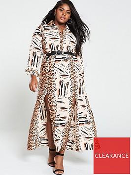 ax-paris-curve-maxi-shirt-dress-animal-print