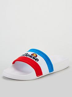 ellesse-borgaro-sliders-white