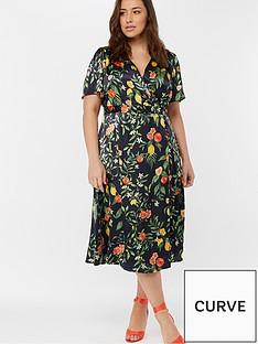 monsoon-curve-opal-print-tea-dress-navy
