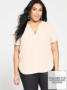 monsoon-curve-zinnia-short-sleeve-blouse-blush