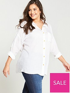 v-by-very-curve-lightweight-cotton-shirt-white