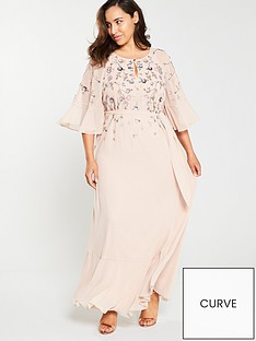 monsoon-curve-augustina-embellished-kaftan-dress-blush