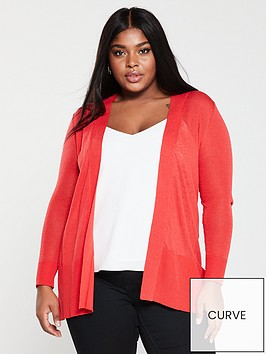 monsoon-curve-elinornbsplinen-blend-cardigan-red