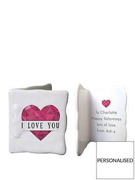 personalised-geometric-heart-ceramic-message-card