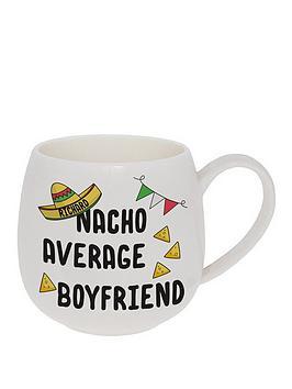 personalised-nacho-average-boyfriend-mug