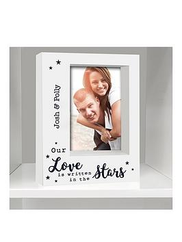 personalised-love-is-written-in-the-stars-box-frame