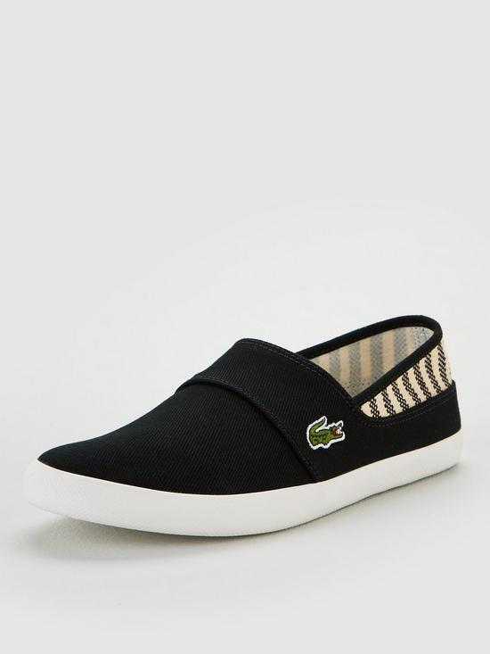 047875aa9c Marice Canvas Slip On Shoes - Black