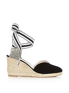 lulu-guinness-eve-suede-wedges-black
