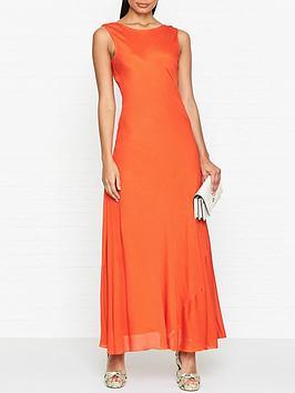 gestuz-laurana-sleeveless-maxi-dress-orange
