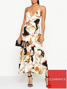 gestuz-abeline-floral-print-wrap-dress--nbspcreamorange