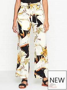 gestuz-abeline-floral-print-trousers--nbspcreamorange