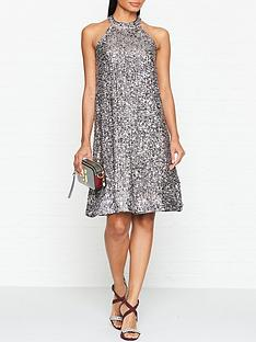 gestuz-gloria-sequin-dress-silver