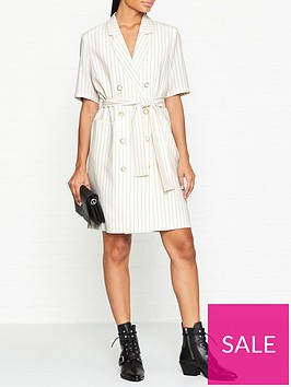 gestuz-aga-pin-stripe-blazer-dress--nbspcream