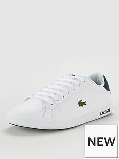 935b0befdba2 Lacoste Graduate Trainers - White Green
