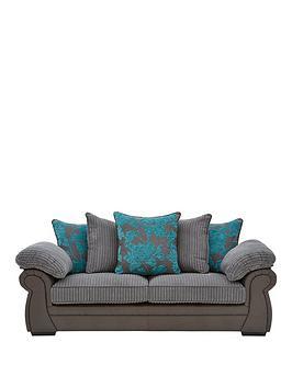 botanic-fauxnbspsnakeskinfabric-3-seaternbspscatter-back-sofa