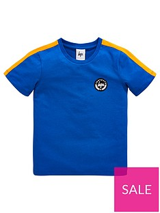 hype-boys-taping-short-sleeve-t-shirt-royal-blue
