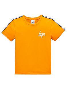 bbf81ad2d4 Hype Boys Taped Short Sleeve T-Shirt - Orange