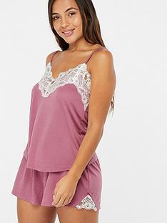 97dfe115cccfd Accessorize Teya Plain Lace Vest Set – Pink