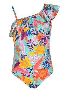 river-island-girls-tropical-print-one-shoulder-swimsuit-blue