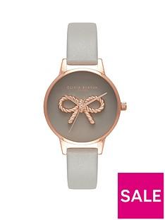 olivia-burton-olivia-burton-grey-and-rose-gold-3d-vintage-bow-dial-grey-leather-strap-ladies-watch
