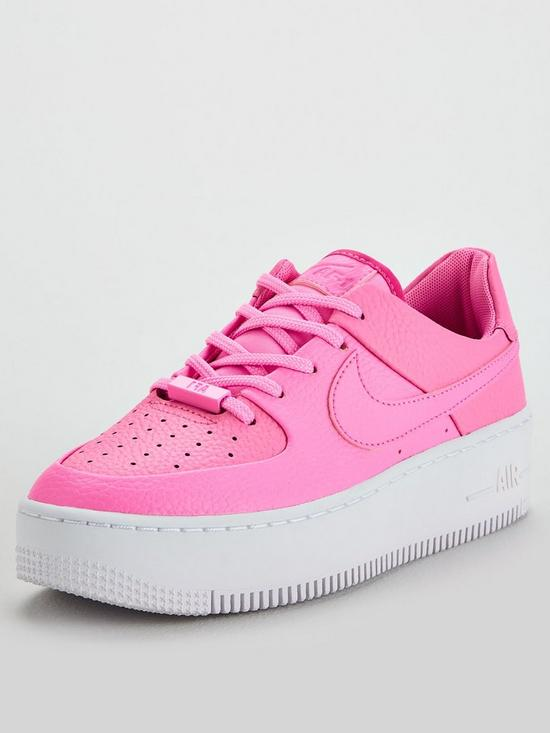 official photos 87faa 50c1a AF1 Sage Low - Pink/White