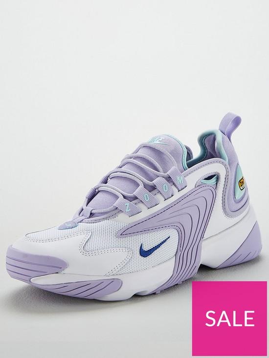 011666638 Nike Zoom 2K - Lilac/White   very.co.uk