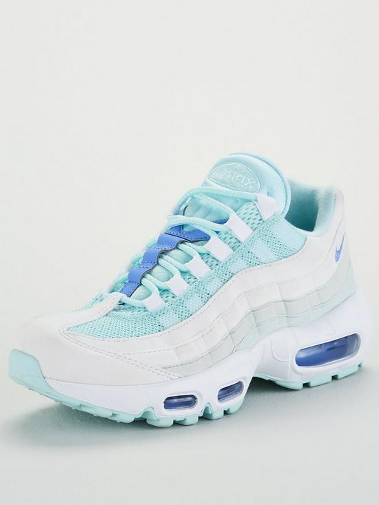 brand new 066e4 7a919 Air Max 95 - Light Blue/White