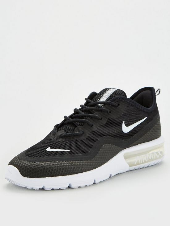 118e30f0f4 Nike Wmns Air Max Sequent 4.5 - Black/White | very.co.uk