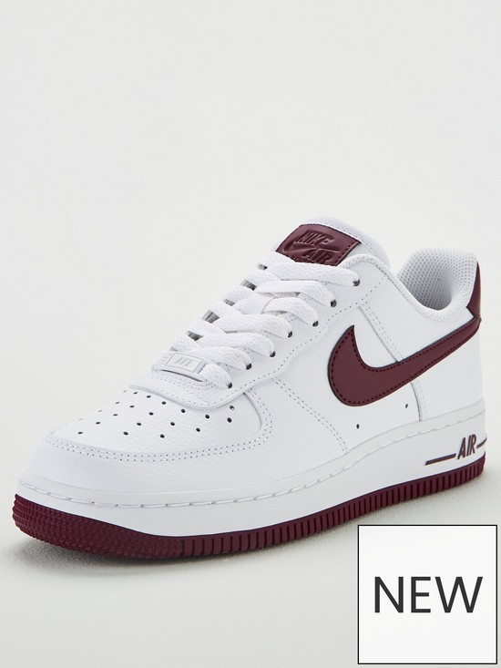 65141c5b60b Nike Air Force 1  07 - White Burgundy