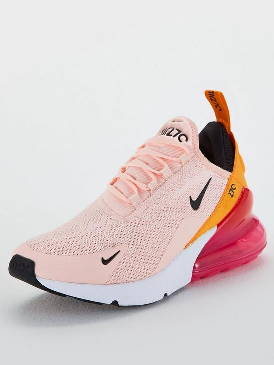 nike air max 270 trainers pink