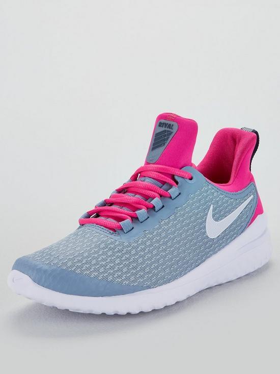 bc99c35ed323 Nike Renew Rival - Grey Pink