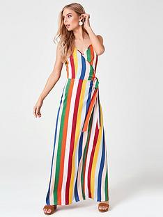 c4e1cf65a410 Girls on Film Nash Candy Stripe Strappy Maxi Dress - Multi