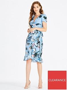 little-mistress-printed-wrap-midi-dress-blue