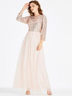 little-mistress-embellished-top-maxi-dress-nude