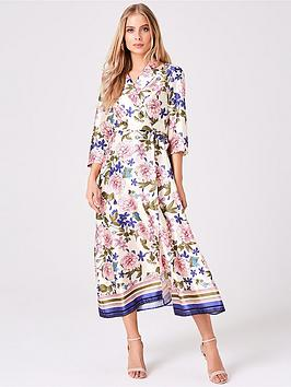 girls-on-film-girls-on-film-border-print-midi-wrap-dress