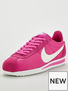 new style 69061 2db7e Nike Classic Cortez Nylon - Pink White