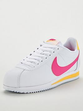 nike-classic-cortez-leather-whitepinkyellow