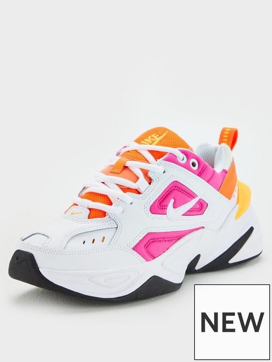 reputable site 76c4d 71551 Nike M2K Tekno - White Pink   very.co.uk