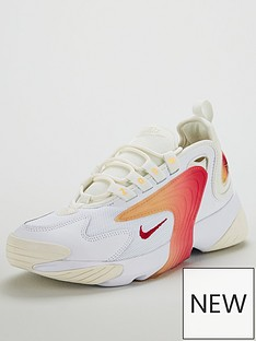 new styles d01d3 d6549 Nike Zoom 2k - White Orange