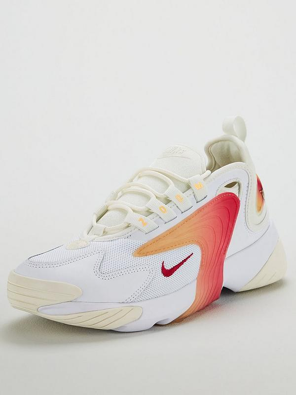 0544786e621 Zoom 2k - White/Orange